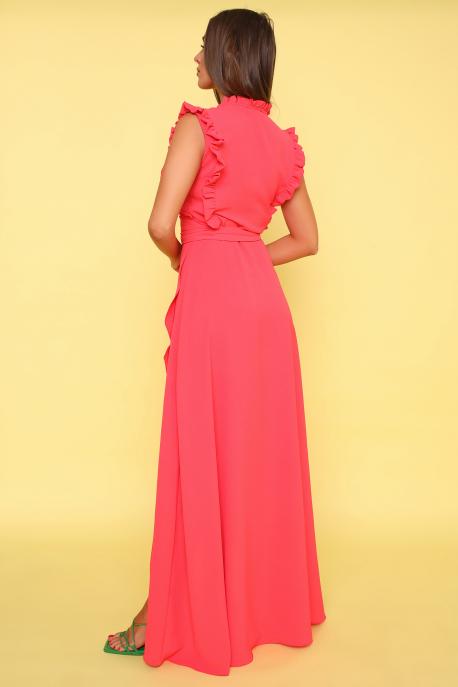 AMNESIA Jivoni hosszú ruha málna