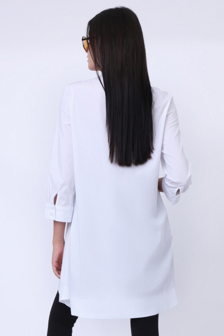AMNESIA Tovila tunika fehér
