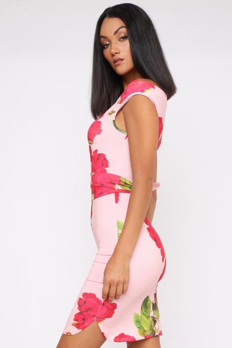 AMNESIA Melani ruha rózsaszín/rózsa