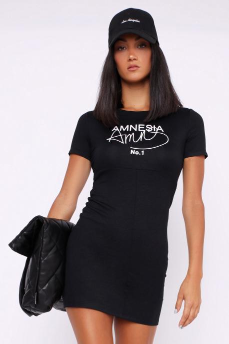 AMNESIA Maran tunika fekete