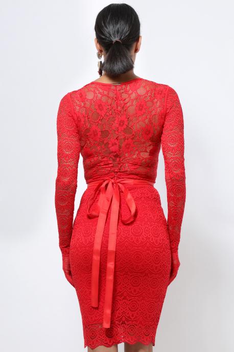 AMNESIA Dakota body piros