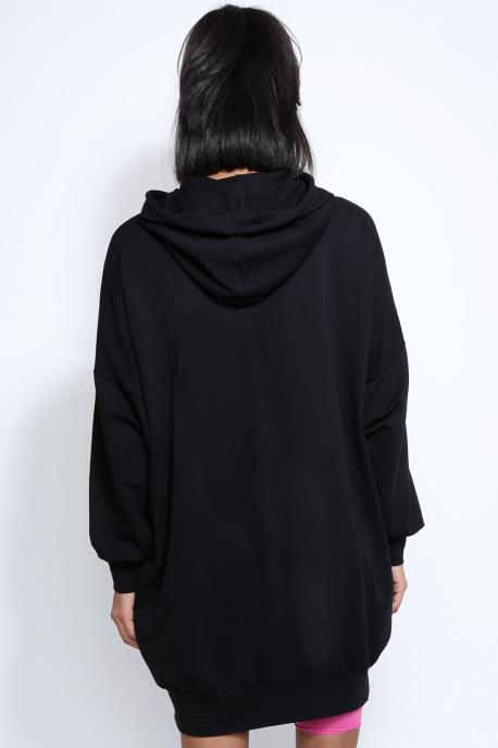 AMNESIA Alorin tunika fekete