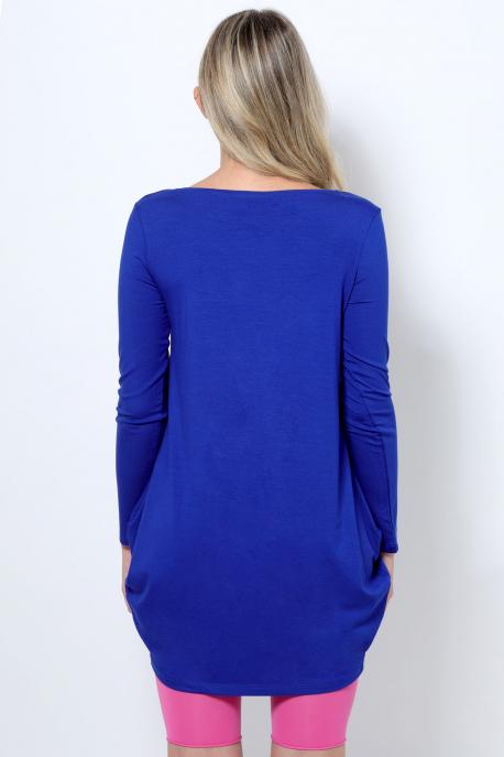 AMNESIA Rogés tunika kék