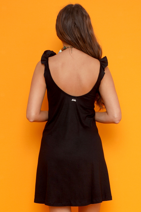 AMNESIA Modori tunika fekete