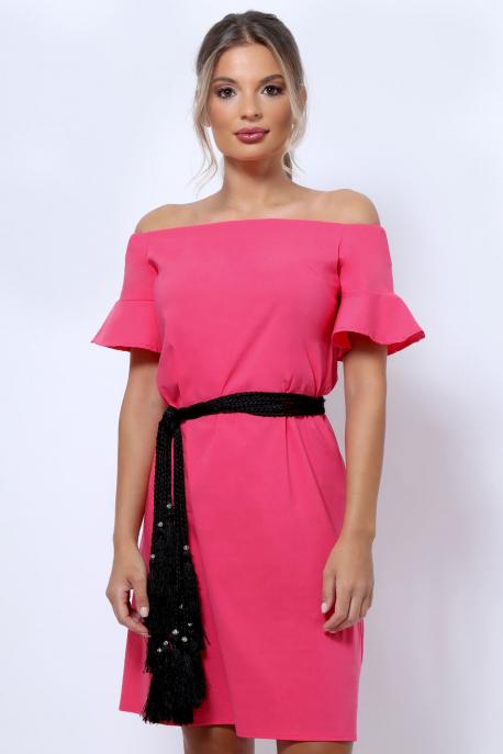 AMNESIA Returpin tunika pink