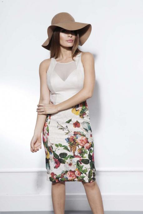 AMNESIA Paide virágos ruha