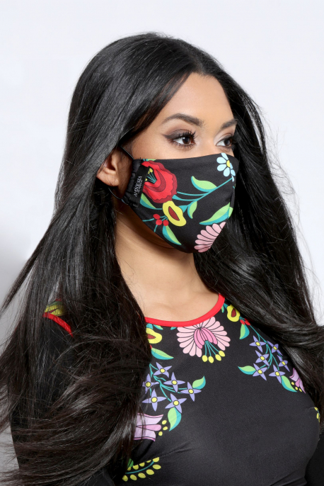 AMNESIA Nyakba akaszthatós maszk mintás