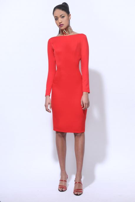 AMNESIA Nolcha piros ruha