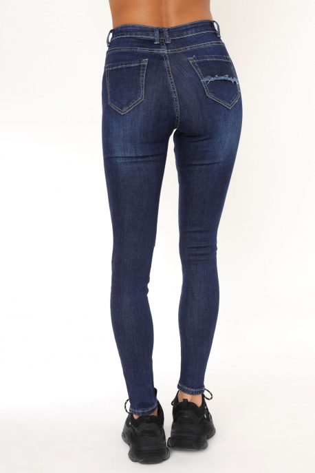 AMNESIA Printed jeans