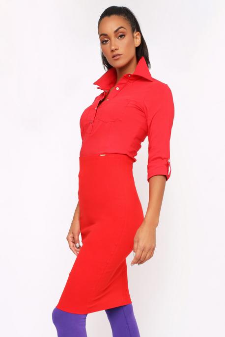 AMNESIA Mebina szoknya piros