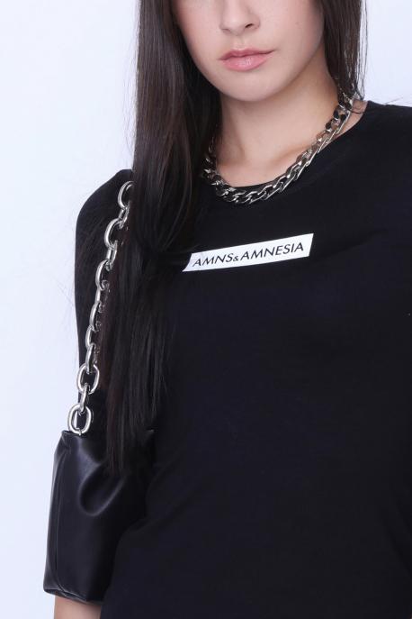AMNESIA Melana felső fekete