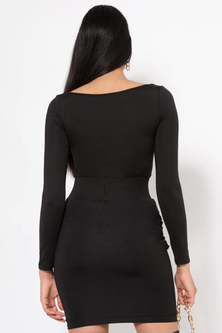 AMNESIA Jalnaoc ruha fekete