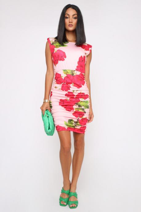 AMNESIA Tinto ruha rózsaszín/rózsa