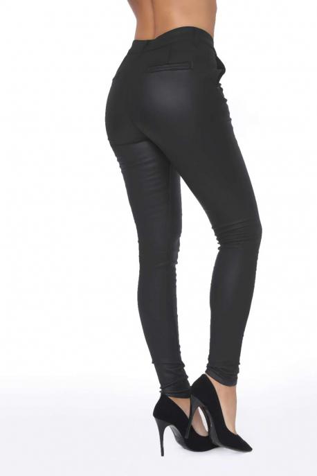 AMNESIA Bőrhatású nadrág