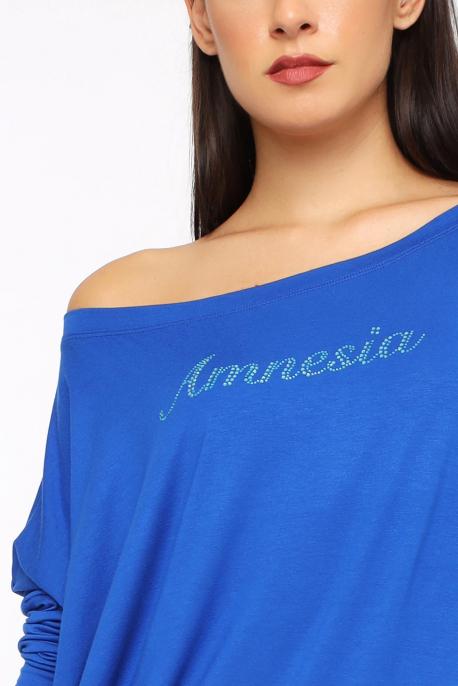 AMNESIA Liliom köves felső kék