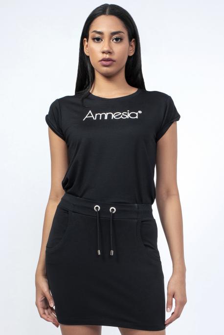 AMNESIA Joan szoknya fekete