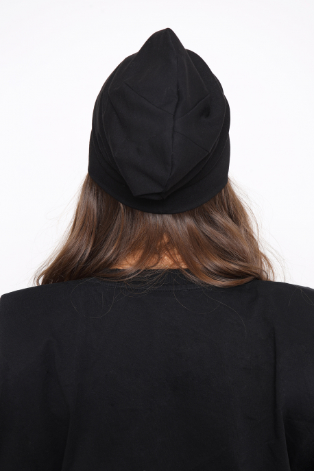 AMNESIA Raw sapka fekete/fekete logó