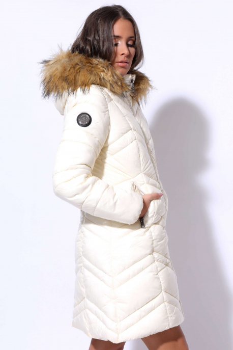 AMNESIA Fényes lakk kabát
