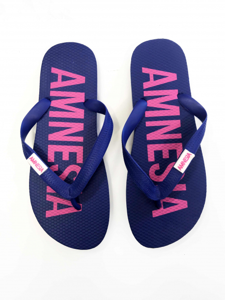 AMNESIA Papucs Kék/Pink