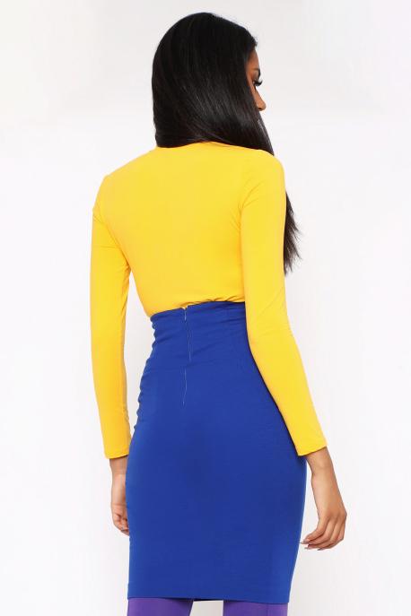 AMNESIA Mebina szoknya kék