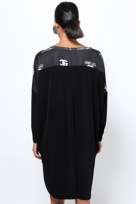 AMNESIA Derill ruha fekete