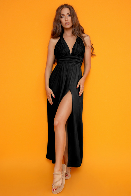 AMNESIA Merszial ruha fekete
