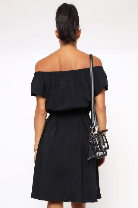 AMNESIA Dozina ruha fekete