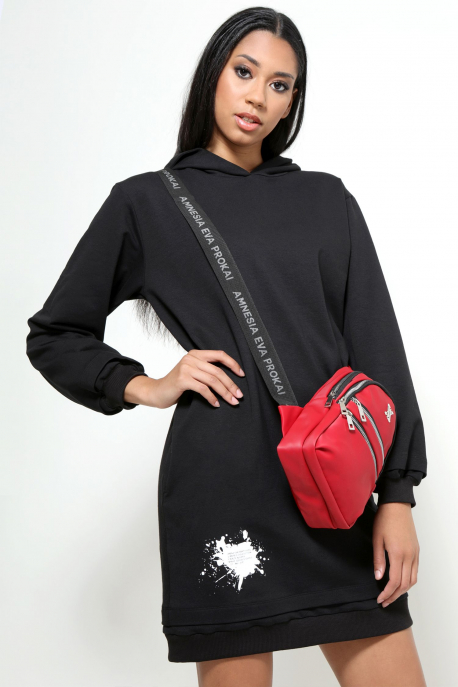 AMNESIA Agida ruha fekete