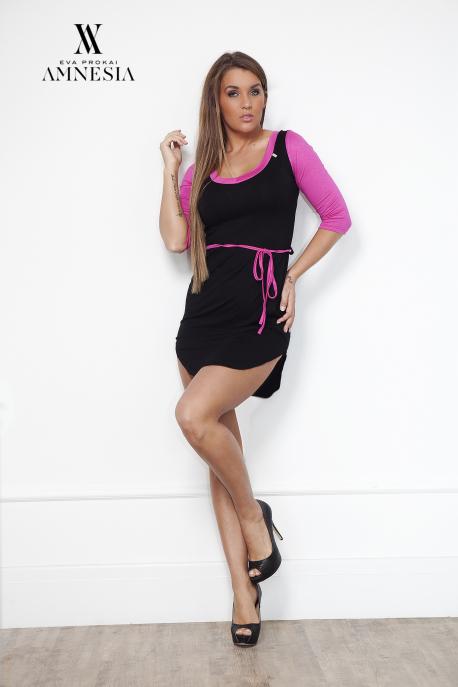 AMNESIA Kétszínű ruha