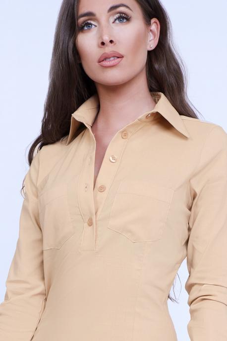 AMNESIA Eskeli shirttunic