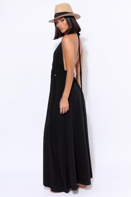 AMNESIA Kála ruha fekete
