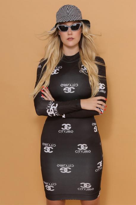 AMNESIA Damietta ruha fekete