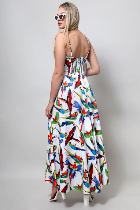 AMNESIA Deriz ruha papagáj