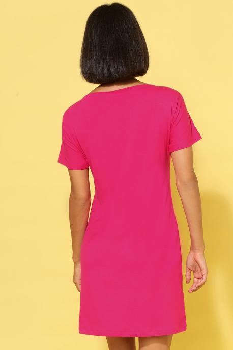 AMNESIA Szümi ruha rózsaszín