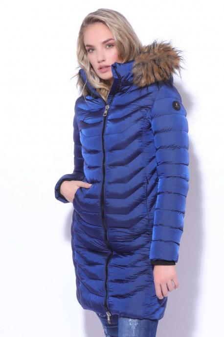 AMNESIA Silky long coat