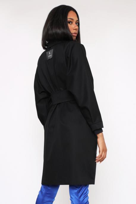 AMNESIA Cali kabát fekete