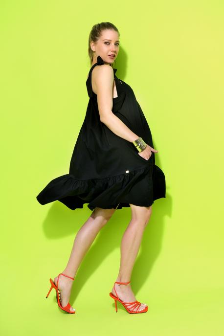AMNESIA Toven ruha fekete