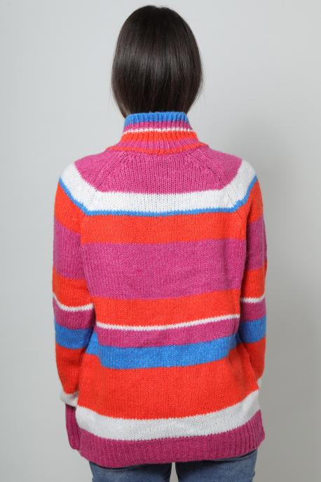 AMNESIA Vegyes pulóver színes