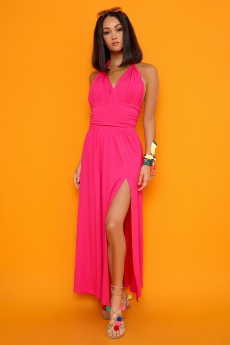 AMNESIA Merszial ruha pink