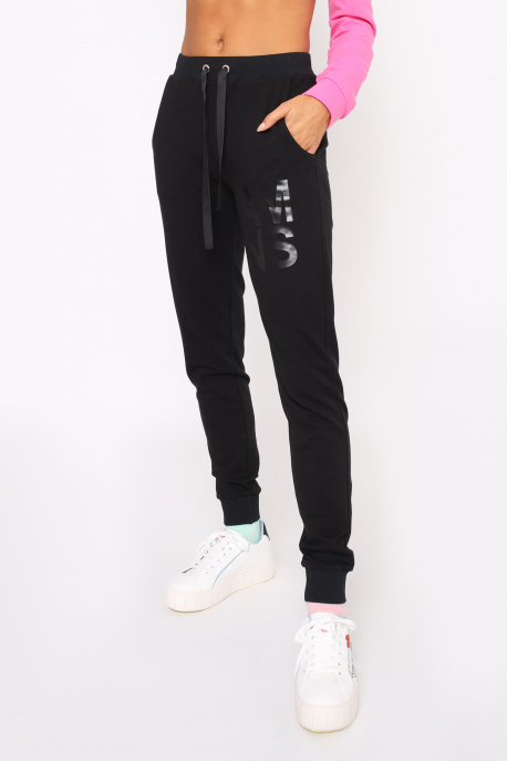 AMNESIA Garamo nadrág fekete