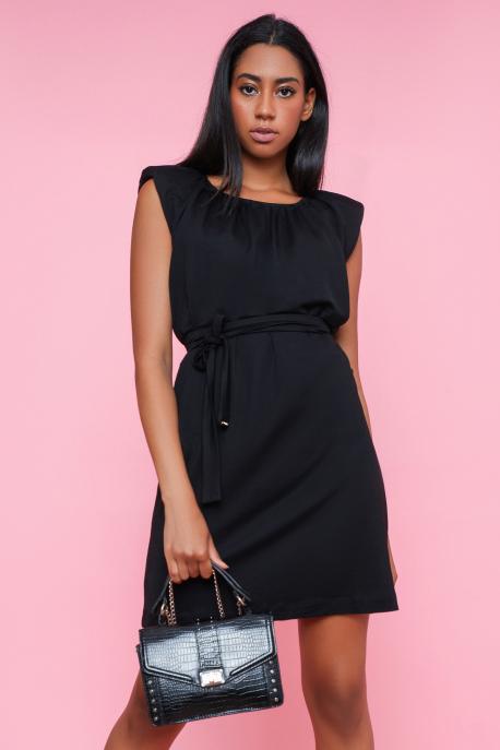 AMNESIA Jettina ruha fekete