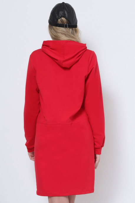 AMNESIA Aluna ruha piros