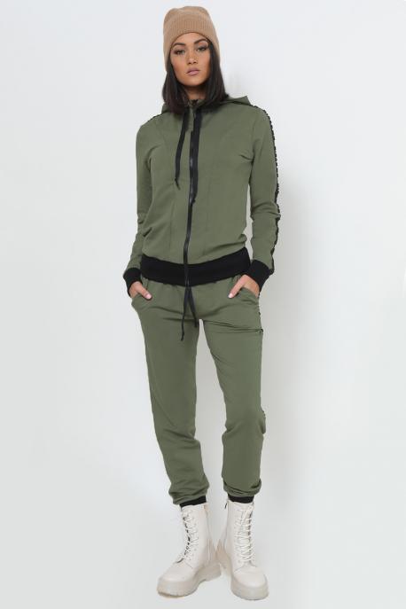 AMNESIA Nerke Nulon melegítő khaki