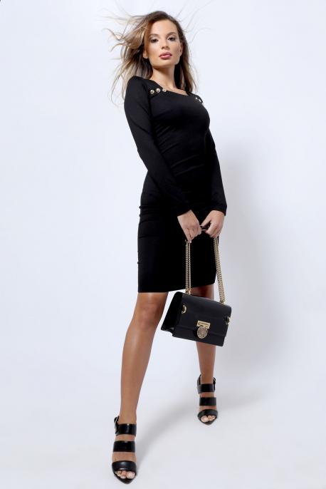AMNESIA Sziszka ruha fekete