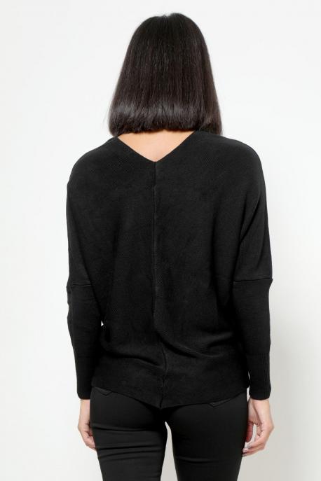 AMNESIA V pulcsi fekete