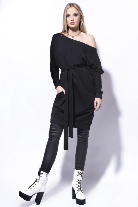 AMNESIA Agrip fekete ruha