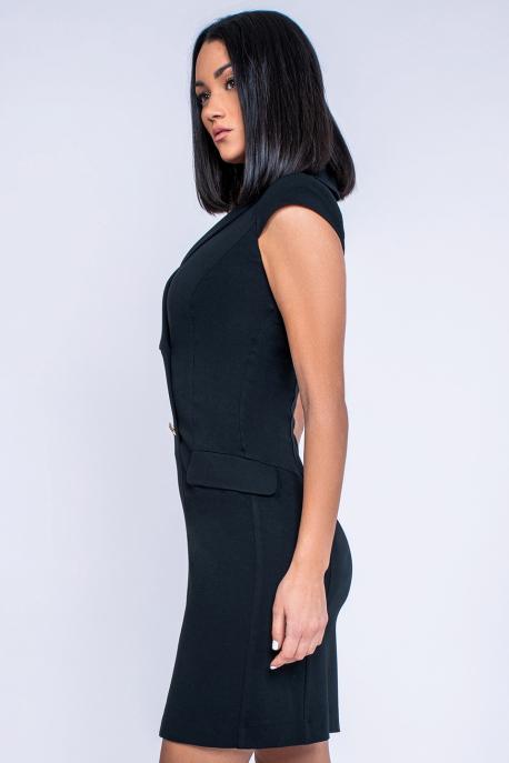 AMNESIA Juppy ruha fekete