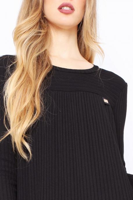 AMNESIA Token ruha fekete
