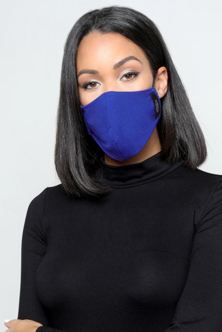 AMNESIA Nyakba akaszthatós maszk kék