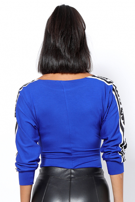 AMNESIA Dominatrix body kék